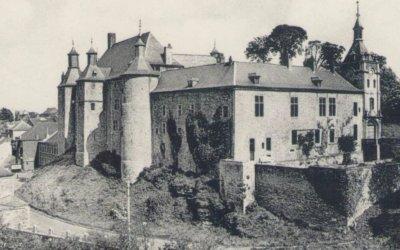 Het Kasteel Fort Ecaussinnes-Lalaing